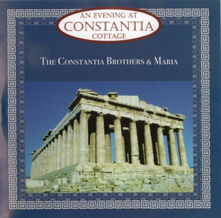 Constantia Brothers CD 'An Evening at Constantia Cottage Restaurant'