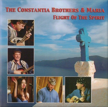 Flight Of The Spirit, Constantia Brothers CD Front Cover.